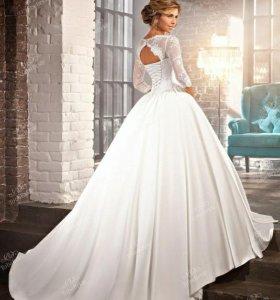 Свадебное платье с ручной отделкой ToBeBride