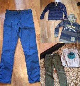 Фирменные вещи H&M на мальчика 8-9 лет