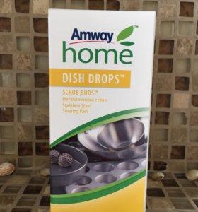 Металлическая губка для мытья посуды и овощей