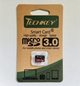 Карта памяти 32GB (class 10) Techkey