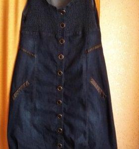 Платье для беременной р.56