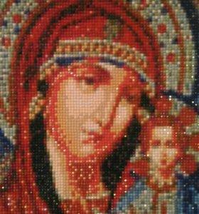 Икона,алмазная мозаика