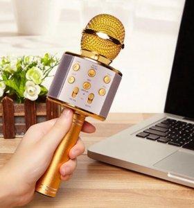 Беспроводной караоке микрофон KTV 858