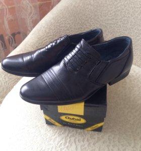 Туфли школьные 27размер( 17 см по стельке)
