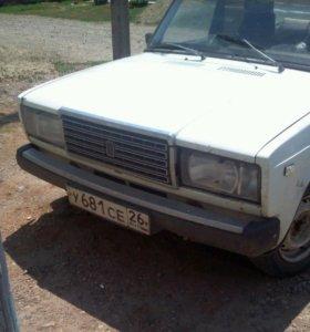 ВАЗ (Lada) 2107, 1985