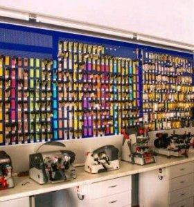 Аренда павильона изготовление ключей, ремонт обуви