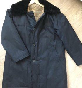 Продам мужскую зимнюю куртку тулуп