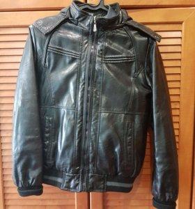 Куртка кож.зам. на подростка