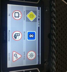 GPS- навигатор PN-970 с цветным ТВ- тюнером
