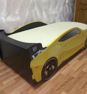 """Детская кровать - машина """"Комаро"""" Трансформер"""