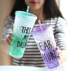 Стакан This is My Drink с трубочкой