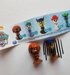 Щенячий патруль игрушки из шоколадных шаров