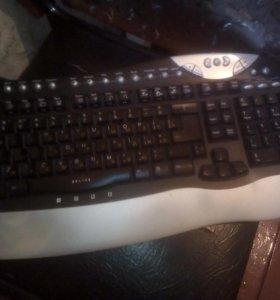 Продам калонки и клавиатуру