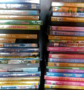Лицензионные диски мультфильмы