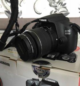 Фотоаппарат (зеркальный) Canon EOS 1200D
