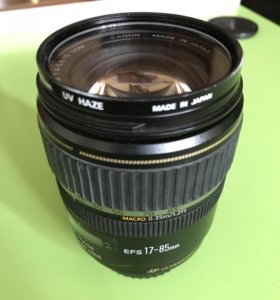 Объектив Canon EF-S 17-85mm f/4-5.6 IS USM