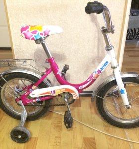 Велосипед для девочки 3-6 лет