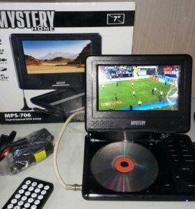 Переносной телевизор с dvd