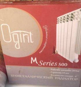 Радиаторы отопления новые 6 и 10 секционный