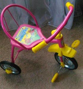 Новый детский трёхколесный велосипед