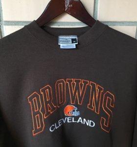 Свитшот PUMA Cleveland Browns NFL