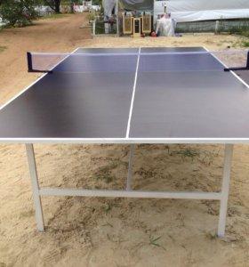 Всепогодный стол для игры в пинг-понг(Дождь-снег)