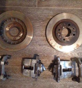 Тормозные диски на ваз r14 и супорта