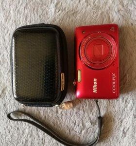 Цифровая фотокамера Nikon s3500