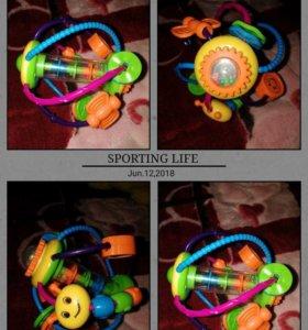Погремушка Huile Plastic Toys Шар