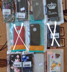 Бомбические чехлы для iPhone 5/5S/SE