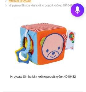 Игрушка Simba Мягкий игровой кубик 4010482