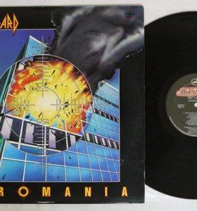 Def leppard - pyromania Mercury США
