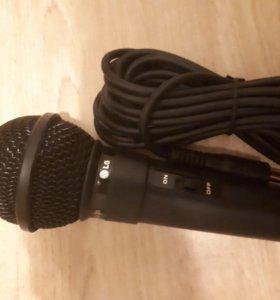 Микрофон для караоке LG GS-35