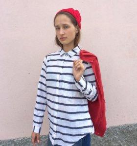 Летняя рубашка Zara Basic