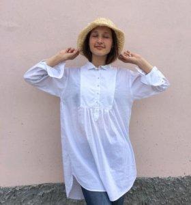 Удлиненная рубашка Zara Basic