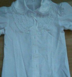 Блузки и водолазки на девочку