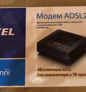 Модем ZyXEL ADSL2+