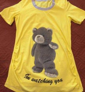 Туника (футболка) для беременных, ФЭСТ