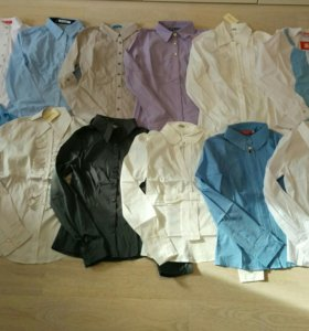 Новые блузки рубашки р.46