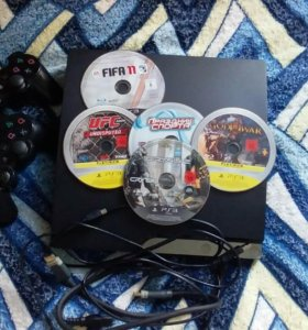 Sony PS3 1TB 105 игр.2 ориг.дж