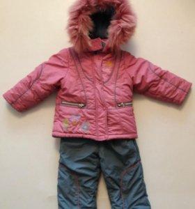 Ккостюм зимний для девочки