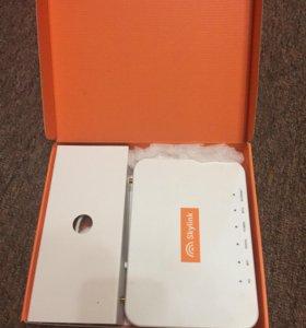 WiFi роутер с антенной и симкартой