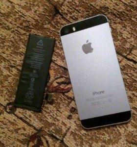 Корпус и аккумулятор от айфона 5s