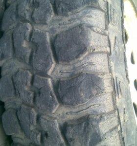 резина и диски грязь