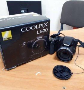 Компактный фотоаппарат Nikon Coolpix L820