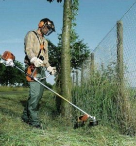Покос травы,уборка территории