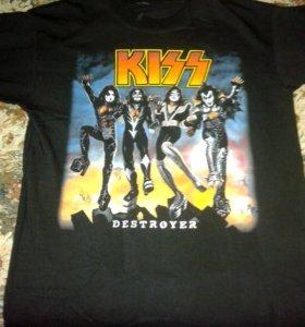 KISS футболка