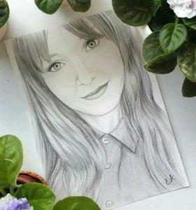 Красивый портрет