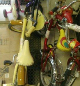 Дет, велосипеды