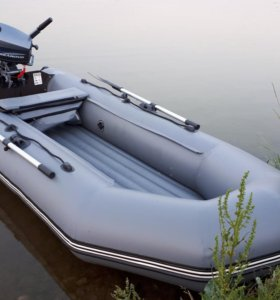 Лодка Бирюса 325нд и мотор Seanovo 5